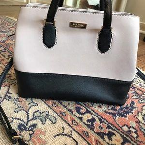 Kate spade laurel way Evangeline leather purse